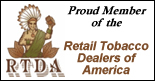 proud member of the retail tobacco dealers of america